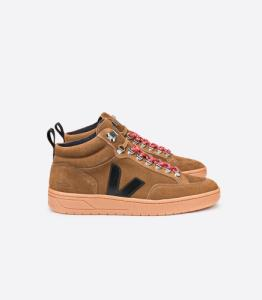 Baskets roraima suede brown black - Veja