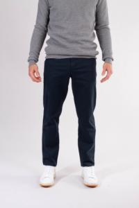 Chino slim bleu nuit en coton bio - joe - Knowledge Cotton Apparel