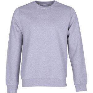 Sweat gris en coton bio - heather grey - Colorful Standard
