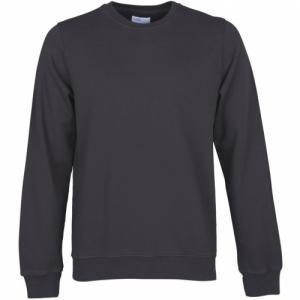 Sweat gris encre en coton bio - lava grey - Colorful Standard