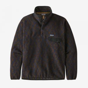 Pull-over polaire bicolore en recyclé - synch snap - Patagonia
