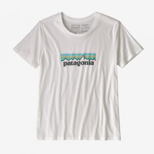T-shirt imprimé blanc en coton bio - p6 - Patagonia