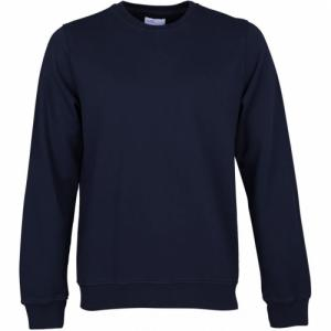 Sweat marine en coton bio - navy blue - Colorful Standard