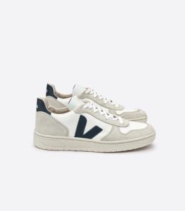 Baskets v-10 bmesh white natural nautico - Veja