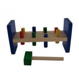 Klopfbank, un jouet en bois à frapper