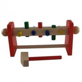 Klopfwelle, un jouet en bois à frapper