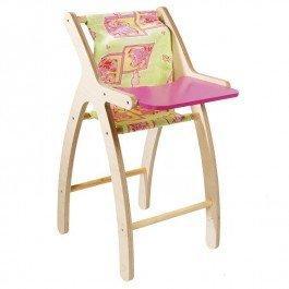 Chaise haute en bois contemporaine
