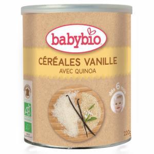 Céréales Babybio à la vanille