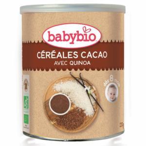 Céréales Babybio au cacao