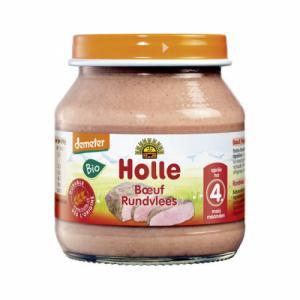Petit pot de viande Holle Boeuf