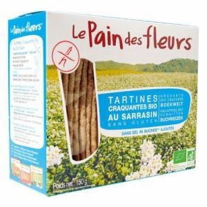 Pain des fleurs au sarrasin sans sel