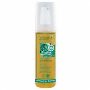 Spray coiffant résines végétales