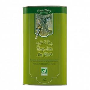 Huile d'olive vierge extra non filtrée bio