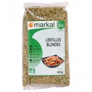 Lentilles blondes bio