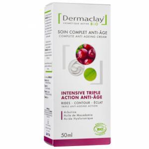 Crème de jour Bio Intensive Anti âge Dermaclay 50ml
