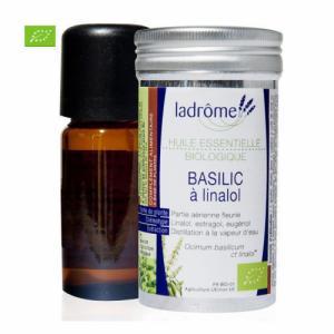 Huile essentielle bio de Basilic 10ml