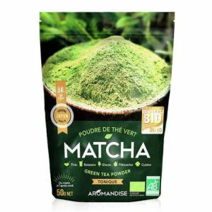 Poudre de Thé Vert Bio Matcha 50g