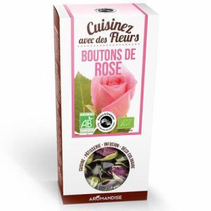 Fleurs à Croquer Boutons de Rose Bio 30g