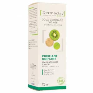 Gommage Visage Bio Purifiant Peaux Mixtes Dermaclay 75ml