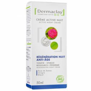 Crème Intensive Nuit Bio Relaxante Régénérante Dermaclay 50ml