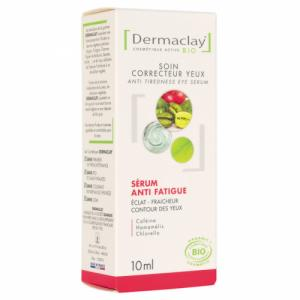 Sérum Contour de l'oeil Bio Anti poches Anti fatigue Dermaclay 10ml