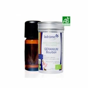 Huile essentielle Bio Géranium Rosat 10ml