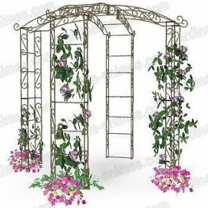 Kiosque de jardin tonnelle 4 pieds