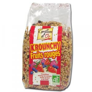 Krounchy fruits rouges bio