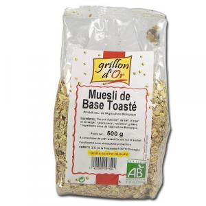 Muesli de base toasté bio