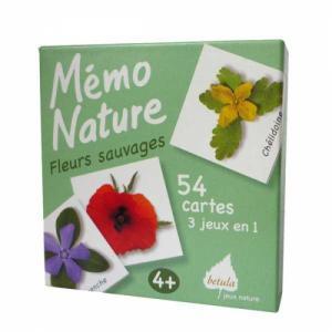 Mémo Nature, les fleurs sauvages