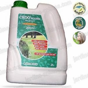 Engrais anti mousse des gazons 2L - jardin bio