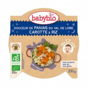 Assiette douceur de Panais et carotte-riz bio