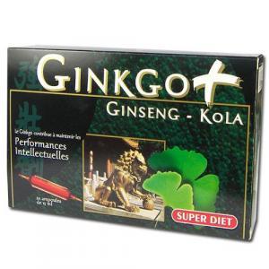 Ginkgo + Ginseng-Kola