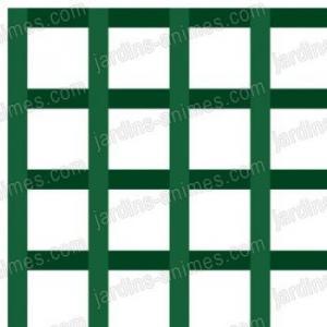 Treillage maille carrée 6cm 1mX2m