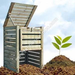 Composteur 760L bois FSC