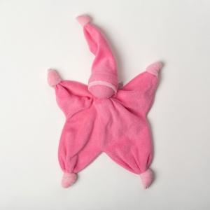 Doudou sisco fuschia Peppa