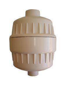 Filtre Douche SPRITE blanc avec cartouche au CHLORGON KDF