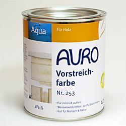 Sous couche pour laques diluables à l'eau AURO