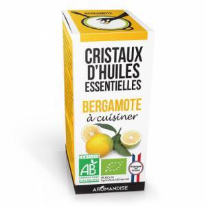 Cristaux d'huiles essentielles Bergamote bio 20g