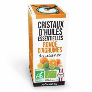 Cristaux d'huiles essentielles Ronde d'Agrumes bio 20g